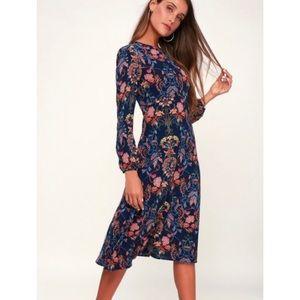 Lulu's I. Madeline Garden Splendor Dress